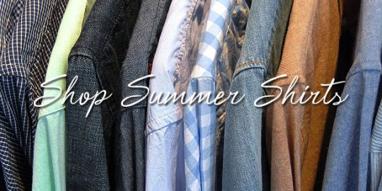 Shop Summer Shirts
