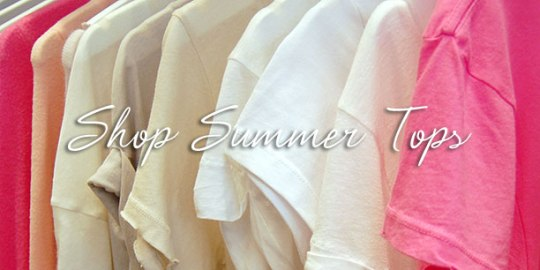 Shop Summer Tops