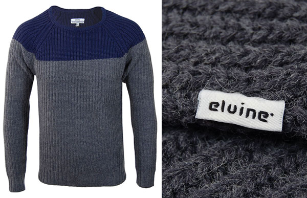 Elvine Hans Navy Grey