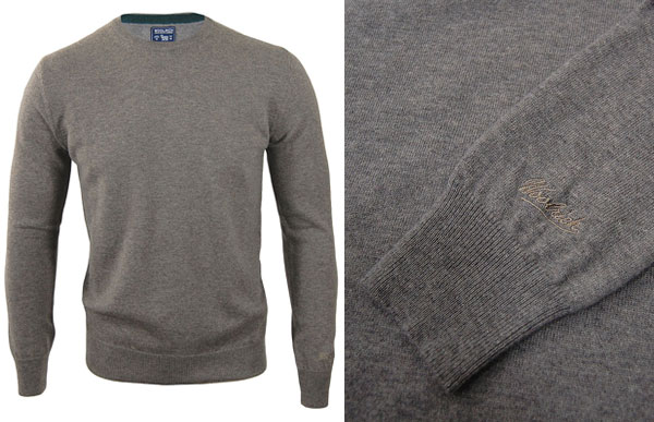 Woolrich Mill Sweat Grey